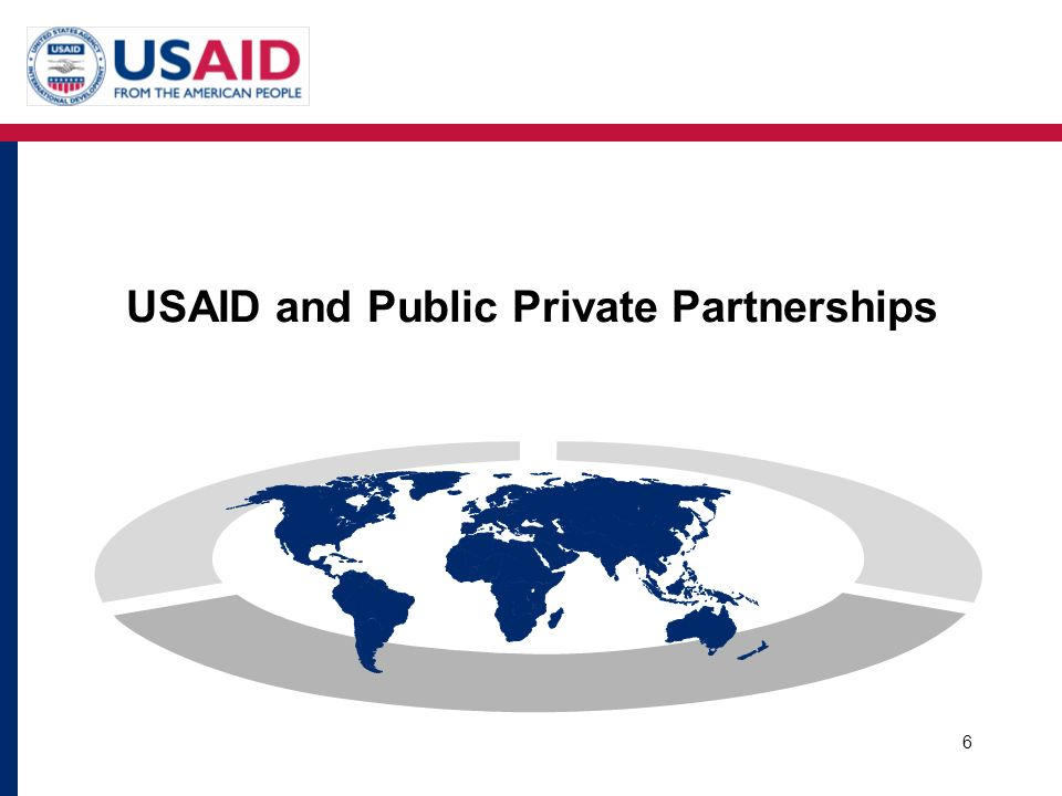 USAID and Public Private Partnerships