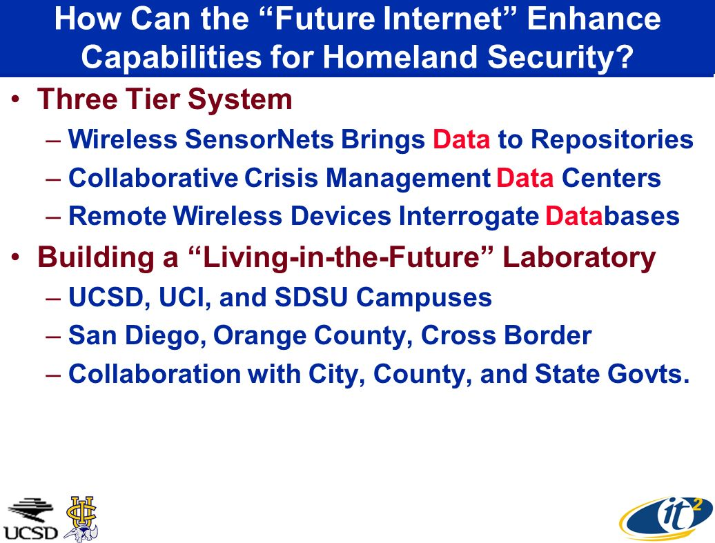 How Can the Future Internet Enhance Capabilities for Homeland Security