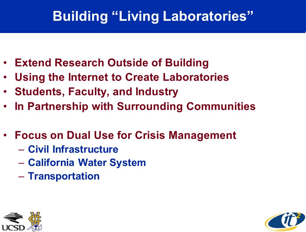 Building Living Laboratories