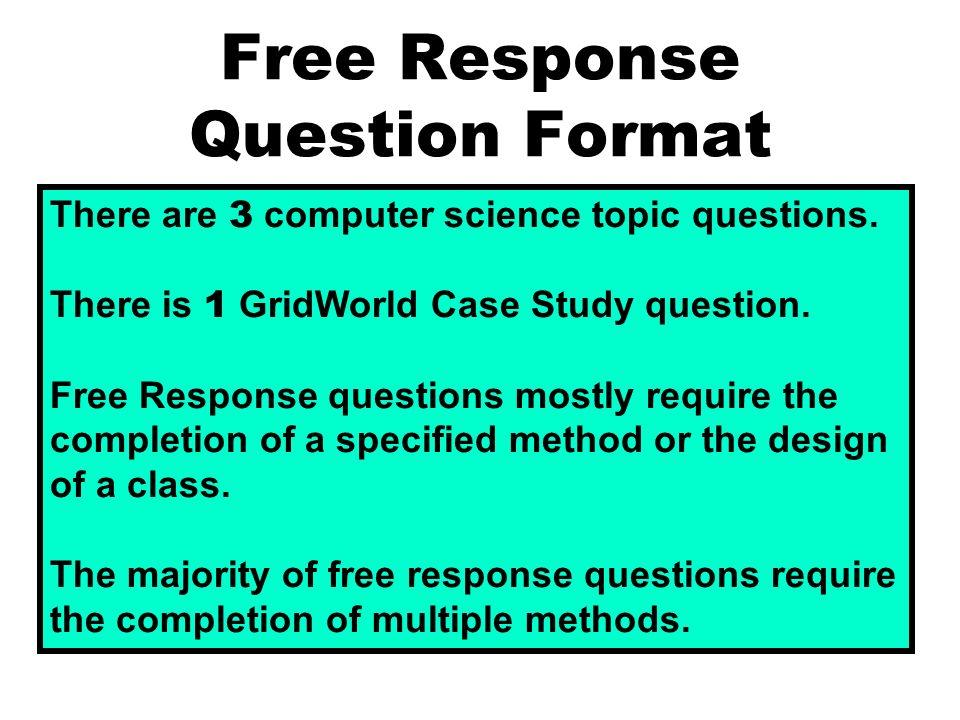 frq questions