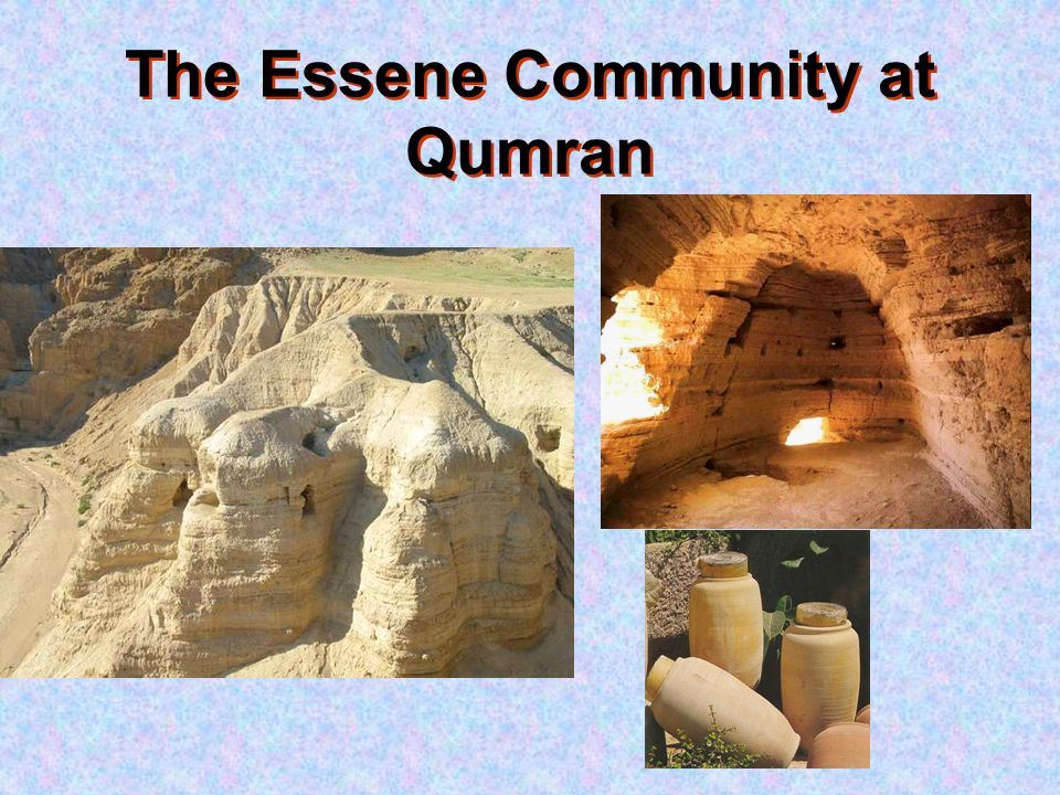 an analysis of the essenes and the qumran community Of the ruins at qumran in 1951 this analysis yielded  of qumran were not a community of  of the site of qumran as a settlement of essenes from.