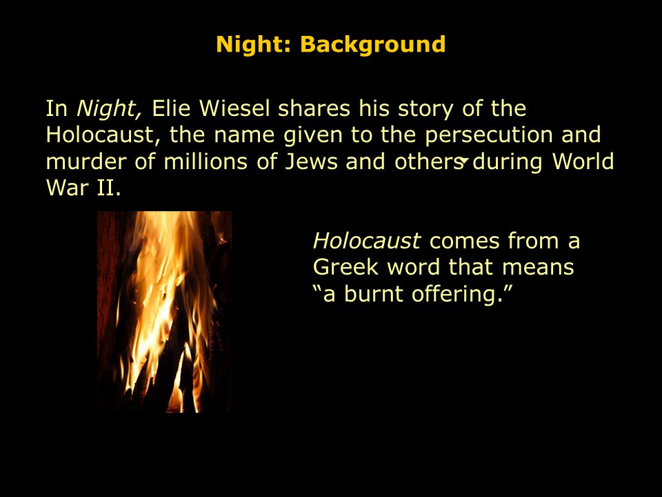 evil in night by elie wiesel With elie wiesel's sad passing, michael berenbaum surveys the  elie wiesel, the moral force who made sure we will never forget evil of.