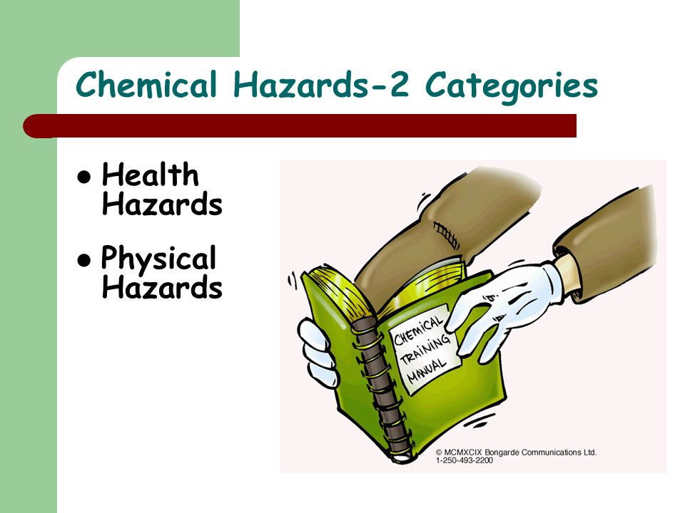 Chemical Hazards-2 Categories