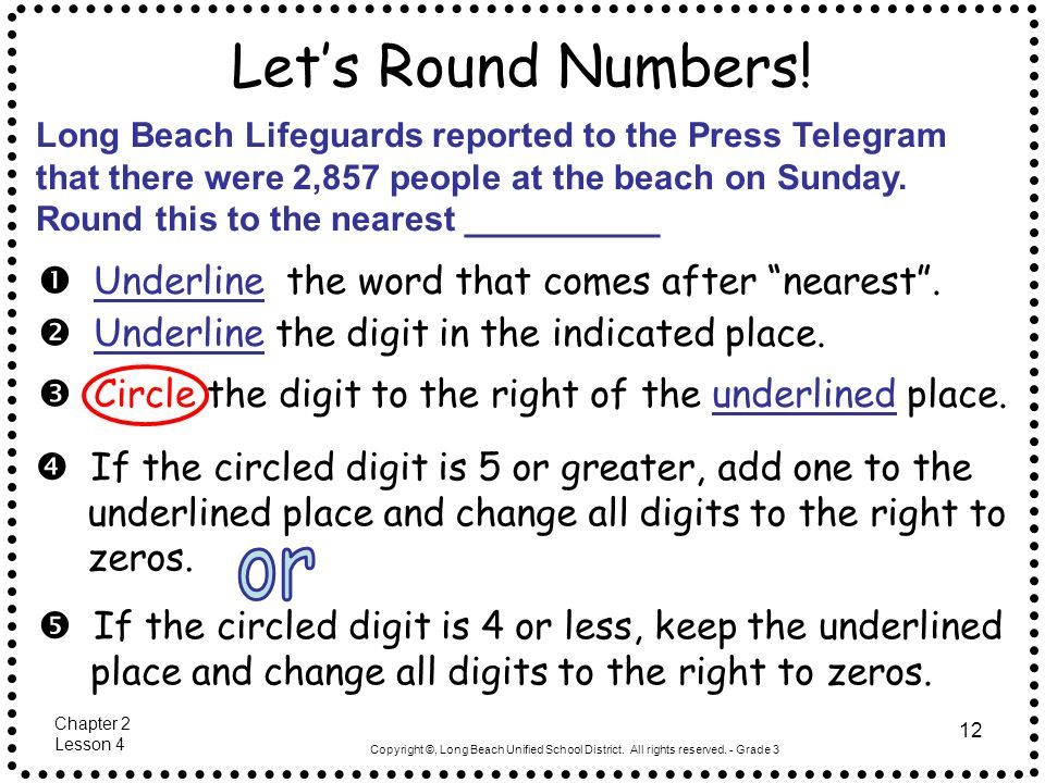 Let's Round Numbers!