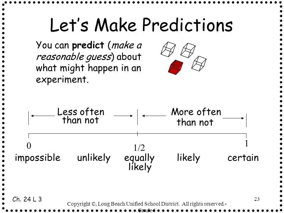 Let's Make Predictions