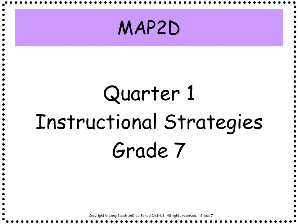 what are instructional strategies