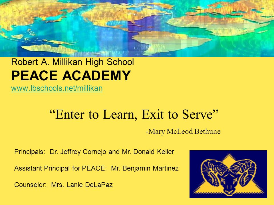 Enter to Learn, Exit to Serve
