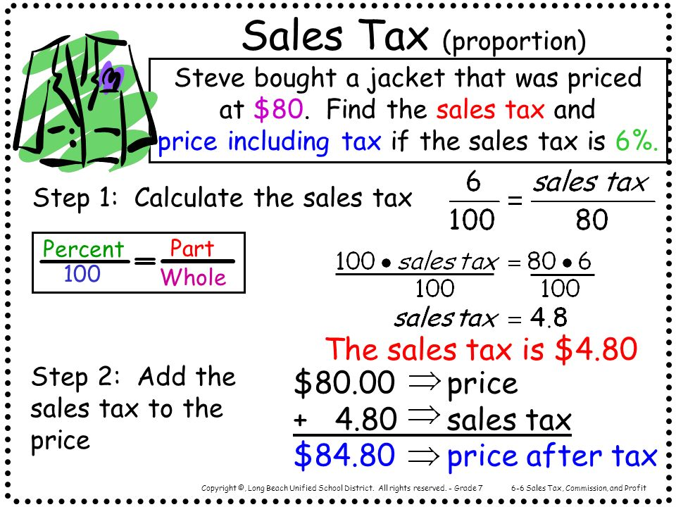 Sales Tax (proportion)