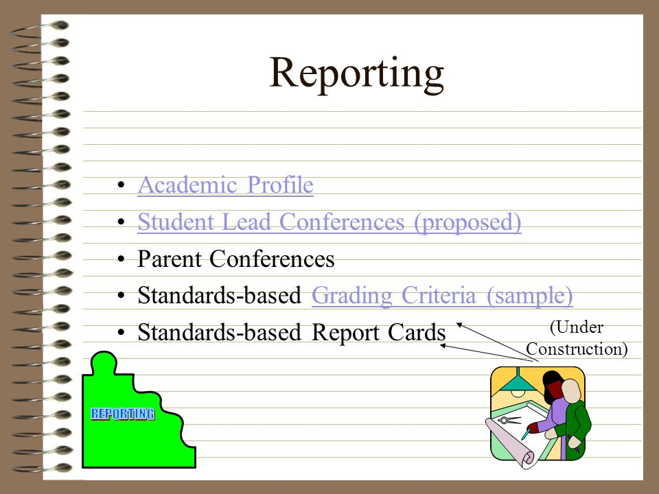 Reporting Academic Profile Student Lead Conferences (proposed)