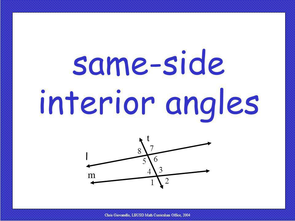 same-side interior angles