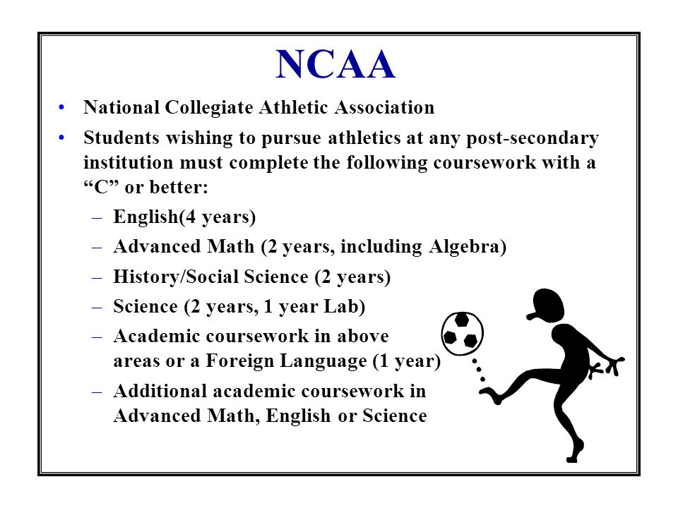 NCAA National Collegiate Athletic Association