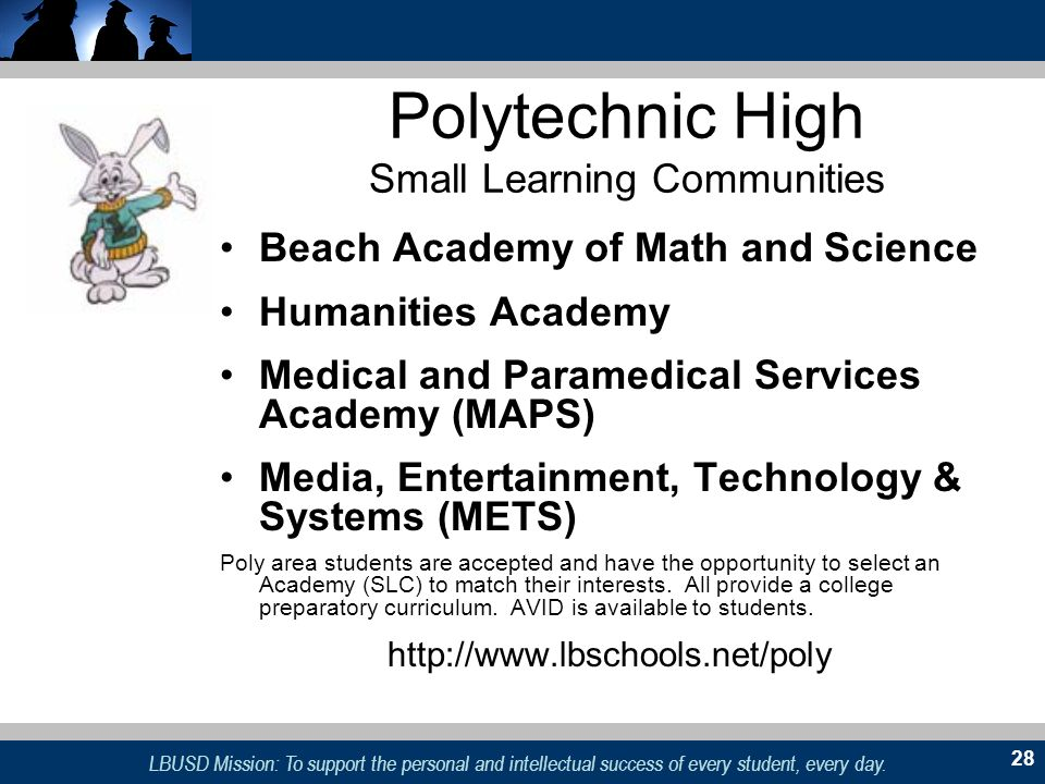Polytechnic High Small Learning Communities