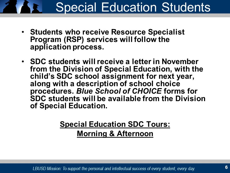 Special Education Students