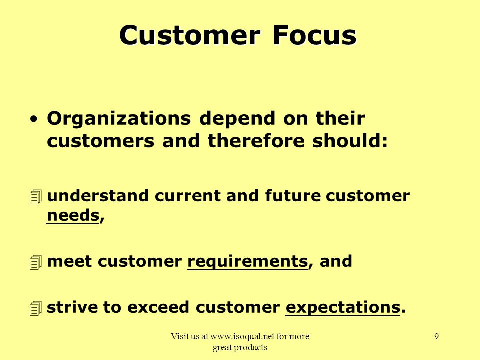 how organisations meet and exceed customer expectations