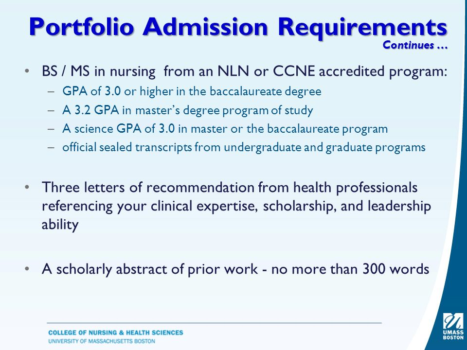 portfolio requirements Application information for prospective students including freshmen, transfer, and international students visit these pages to learn more about details regarding the portfolio requirements for.