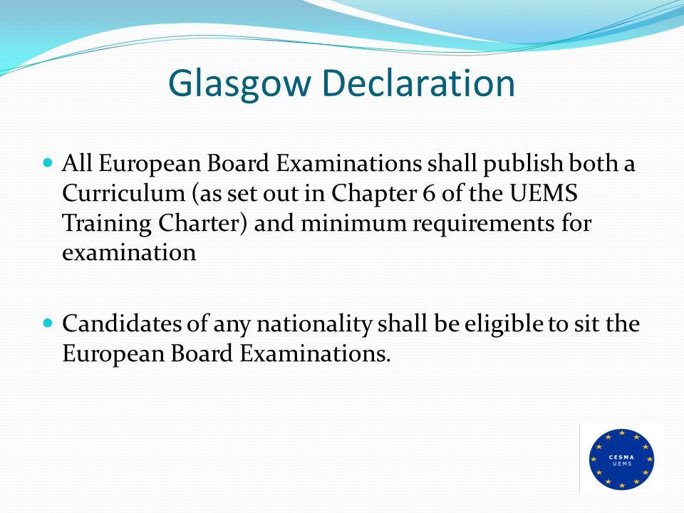 Glasgow Declaration