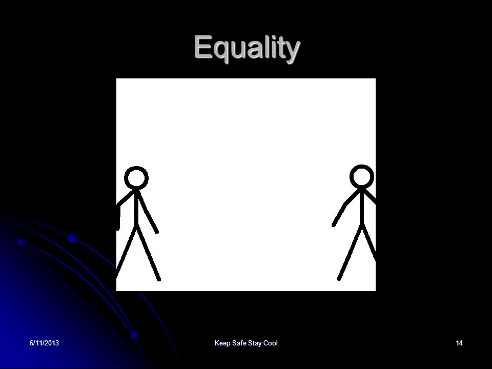 Equality 22/03/2017 Keep Safe Stay Cool
