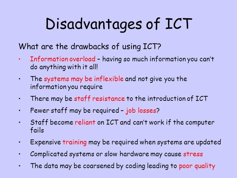 using ict to present information essay Impact of icts on learning & achievement a knowledge map on information & communication technologies in education  how can icts be used to present,.