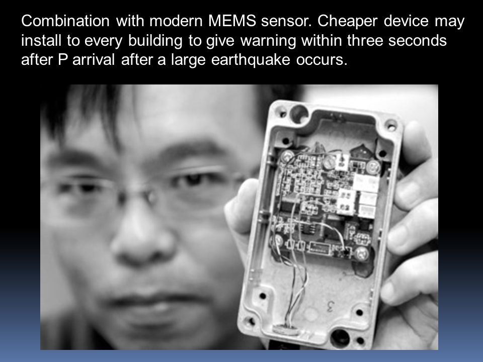Combination with modern MEMS sensor