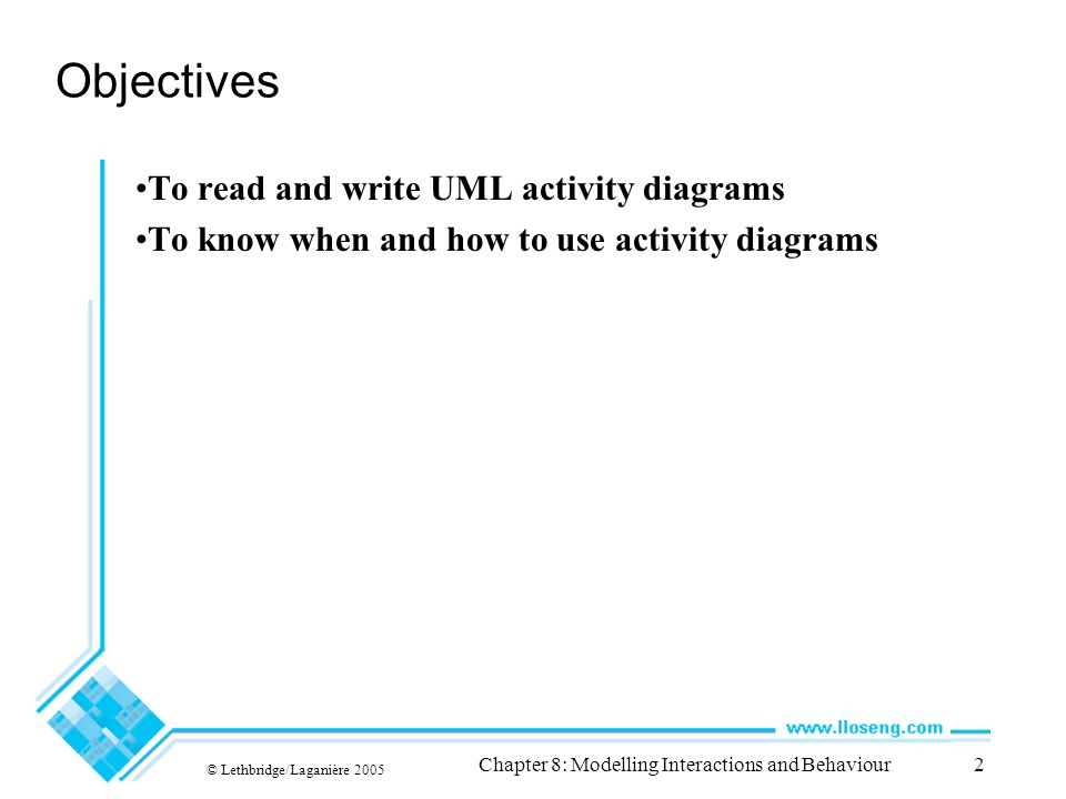 Chapter 8 modelling interactions and behaviour uml activity diagram 2 chapter ccuart Image collections