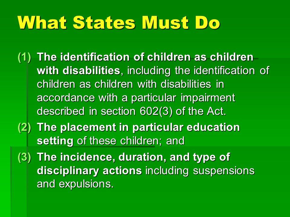 What States Must Do