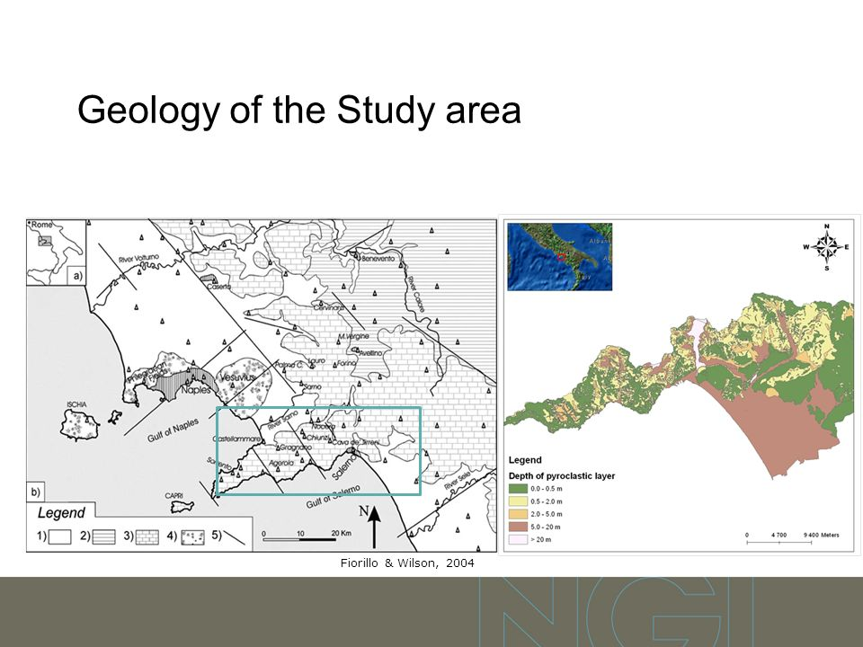 Geology of the Study area