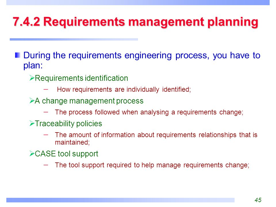 7. Requirements Engineering Processes - ppt download