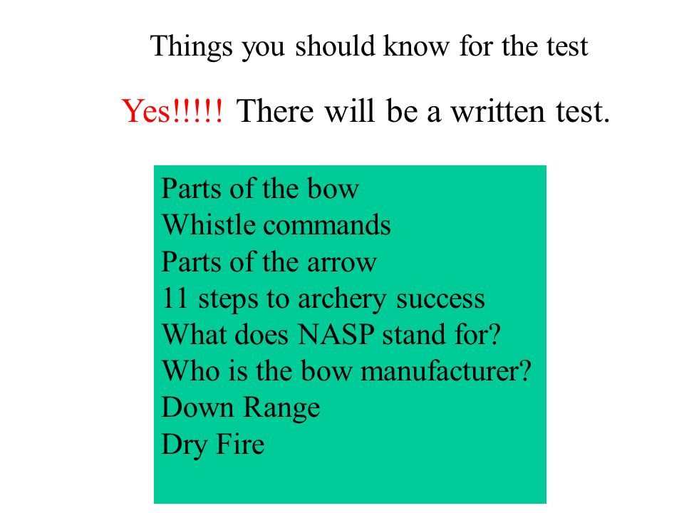 Yes!!!!! There will be a written test.
