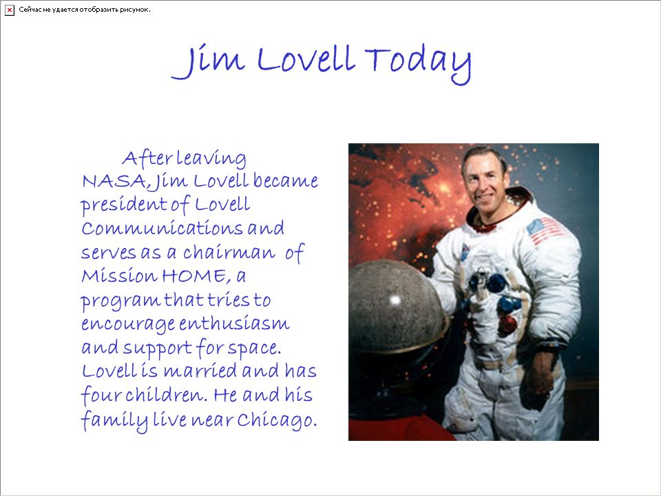 Jim Lovell Today
