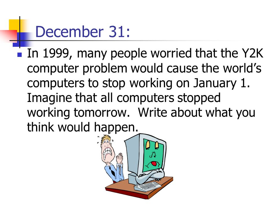 December 31: