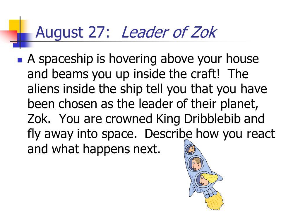 August 27: Leader of Zok