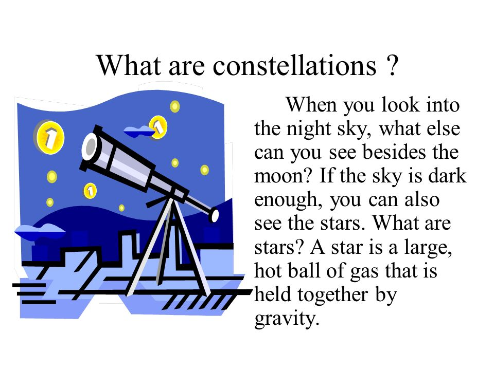 What are constellations