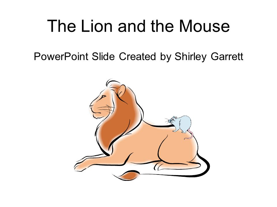 PowerPoint Slide Created by Shirley Garrett