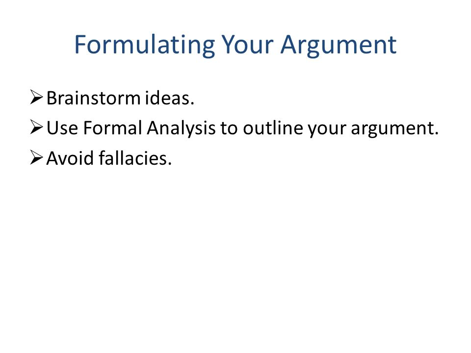 formal analysis writing assignment