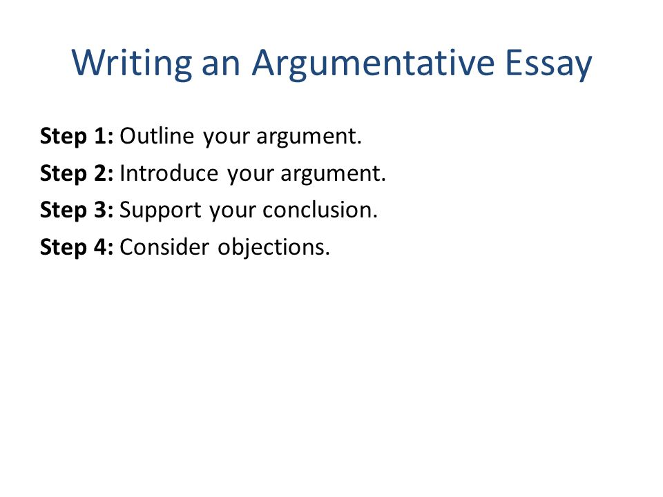 how to avoid fallacies in a thesis