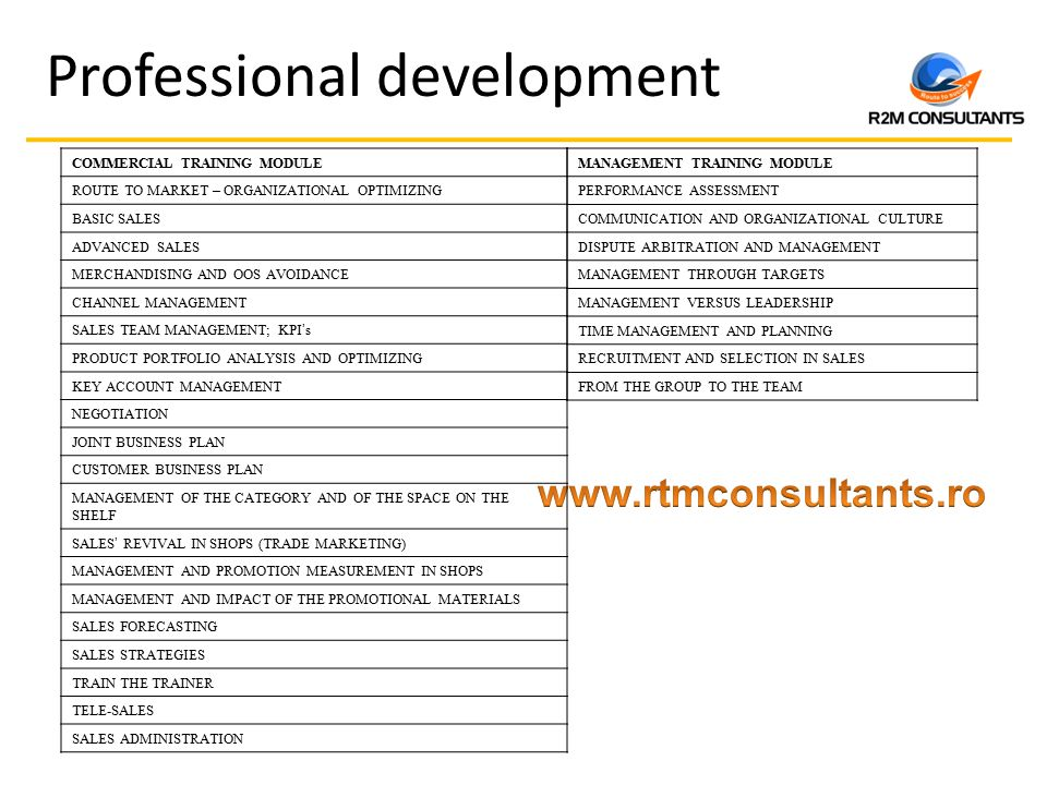 professional business planning