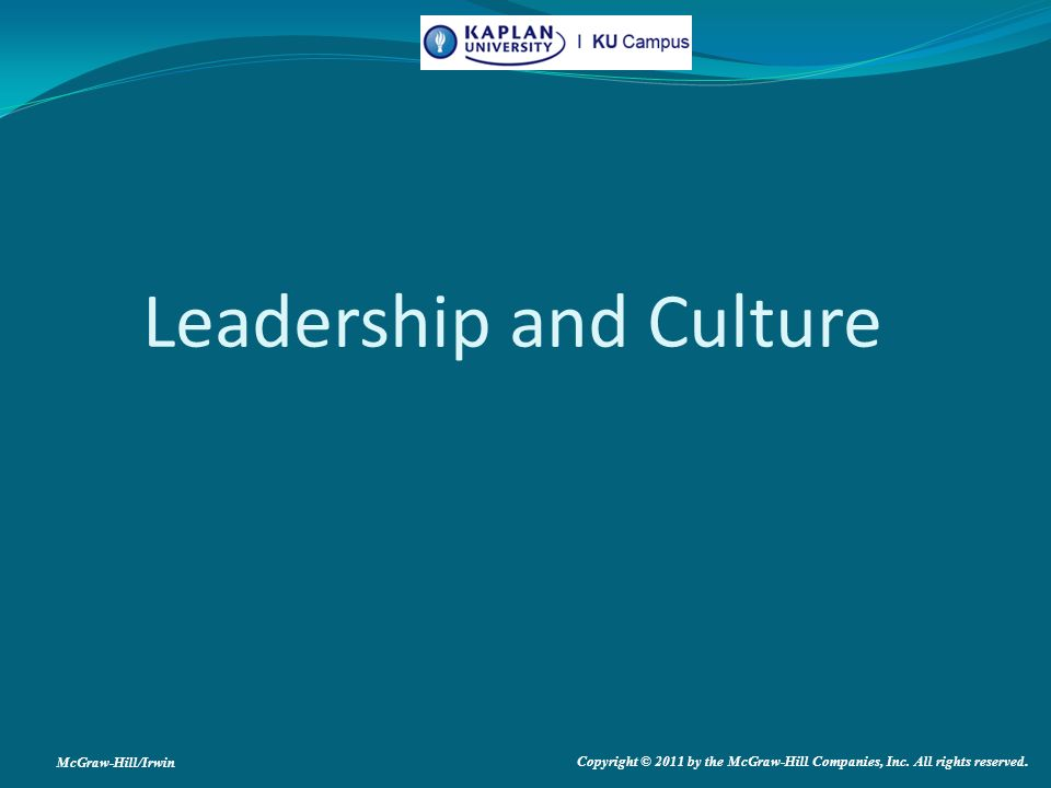 Leadership culture and young leaders
