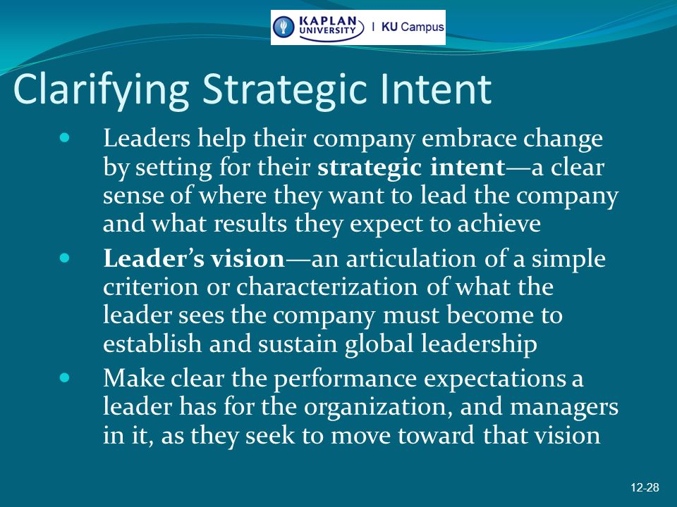 identifying the need for a strategic change in an organisation The most common refrain we hear from executives who have pursued major transformations is that they should have started managing the change process earlier more time should have been dedicated to creating buy-in at the beginning of the process, communicating with the organization, identifying.