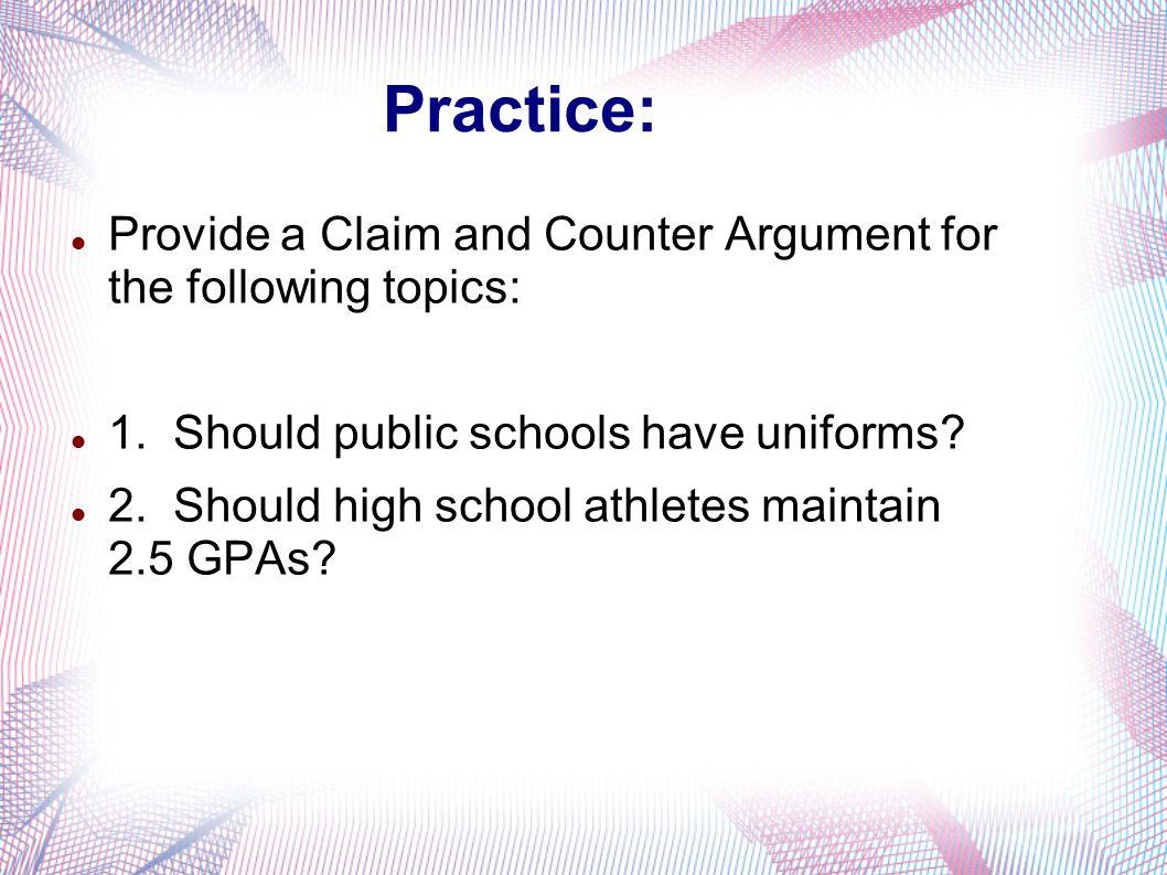 argumentative essay topics about education