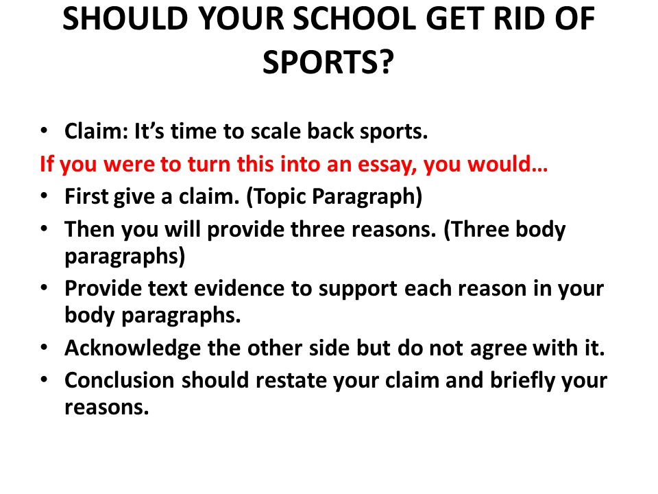 should your school get rid of sports ppt video online  should your school get rid of sports