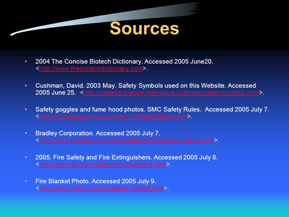 Sources 2004 The Concise Biotech Dictionary. Accessed 2005 June20. <http://www.thebiotechdictionary.com>.