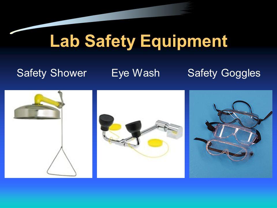 Lab Safety Equipment Safety Shower Eye Wash Safety Goggles