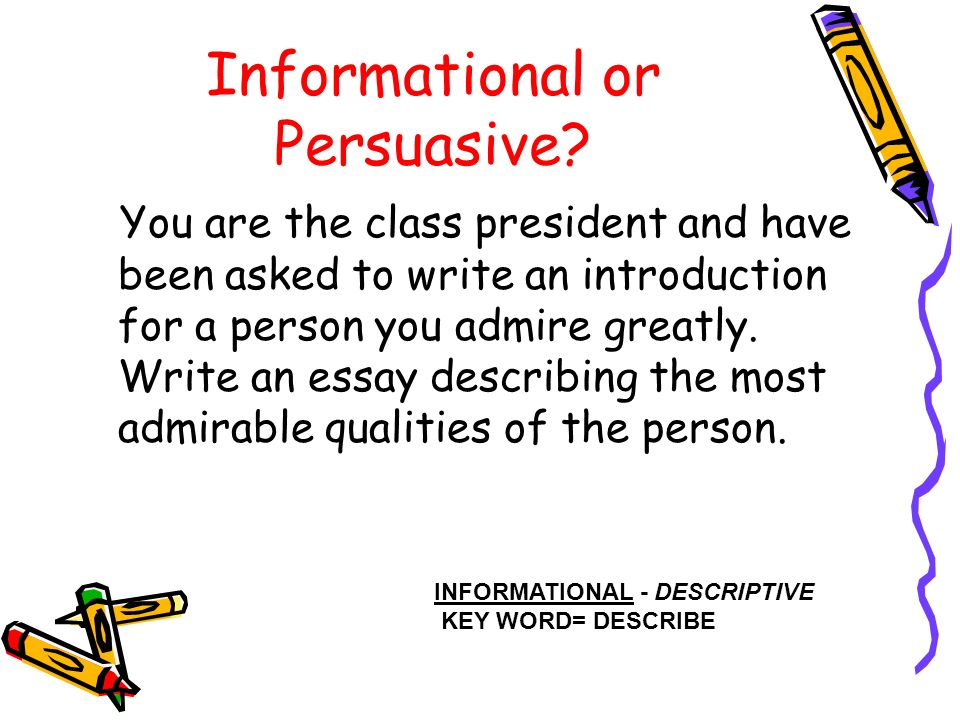describing a person you admire essay 100% free papers on describe a person you admire essays sample topics, paragraph introduction help, research & more class 1-12, high school & college - - page 4.