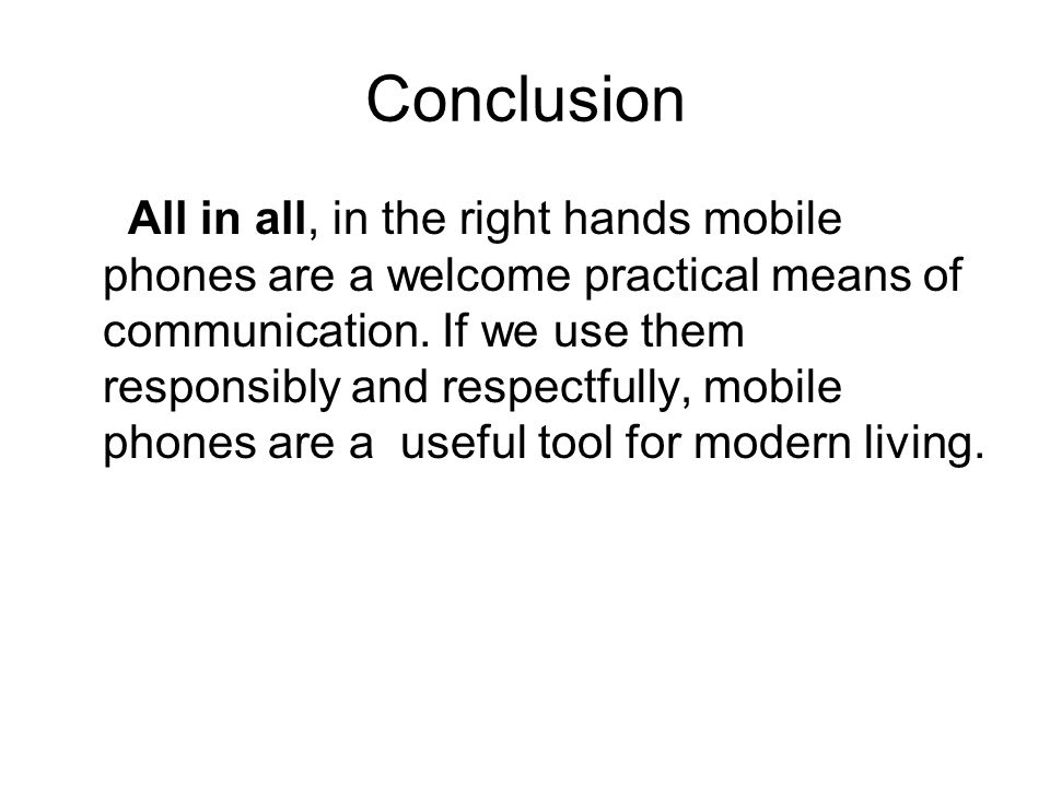 Essay About Cell Phone