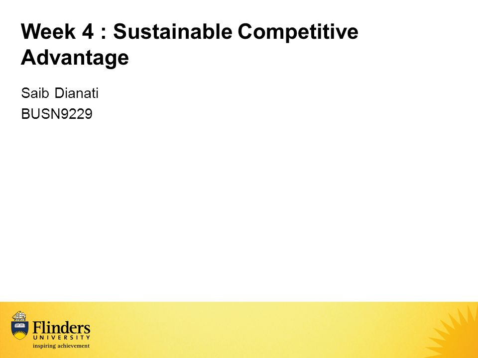 can competitive advantage be sustainable The 2 kinds of competitive advantage and the 2 can be considered as competitive over a long period of time has sustainable competitive advantage.