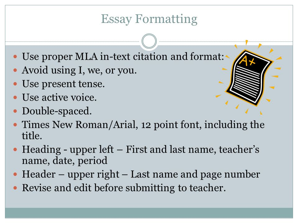 proper apa format for an essay Learn how to properly write your college essay in mla and apa format - check out our guidelines to a proper formatting.