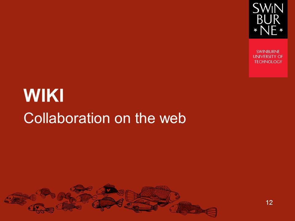 Collaboration on the web