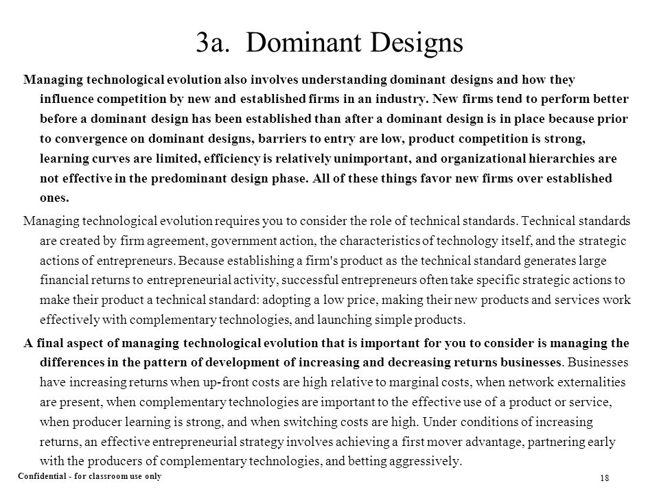 dominant designs essay Free dominant ideology concepts and in this essay i will focus on two: power and dominant emotional designs on the individual audience in.