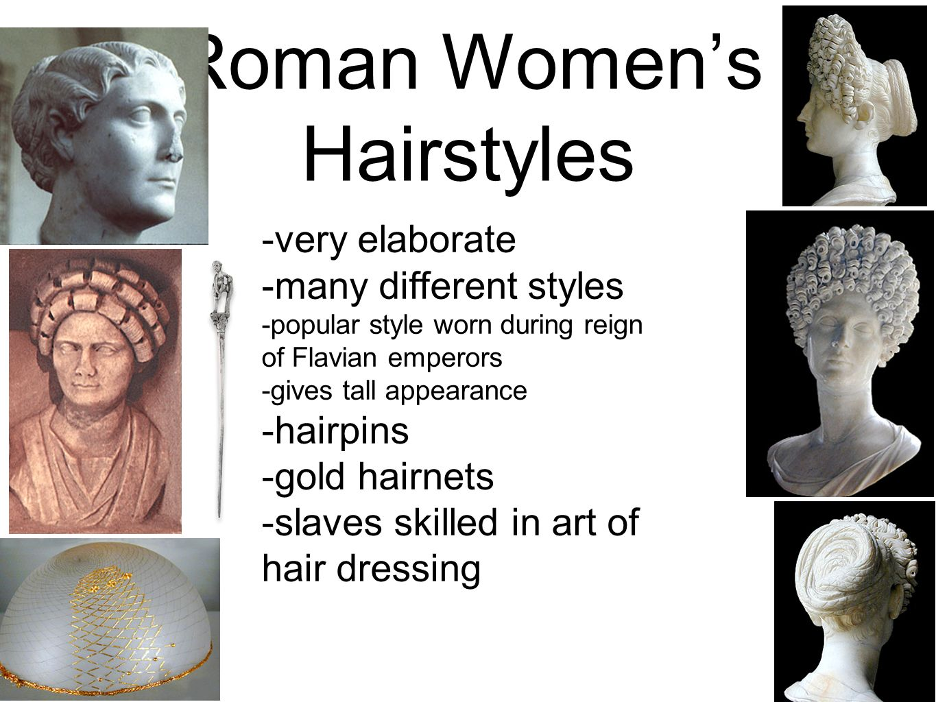 Ancient Hairstyles of the GrecoRoman World