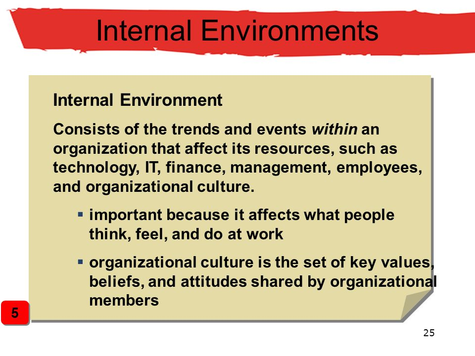 culture is also important inside an organization Employee values and organizational culture are considered vital to  an  example of the importance of culture is the way that culture clashes are a leading  cause.